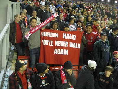 Nurdin Halid never walk again