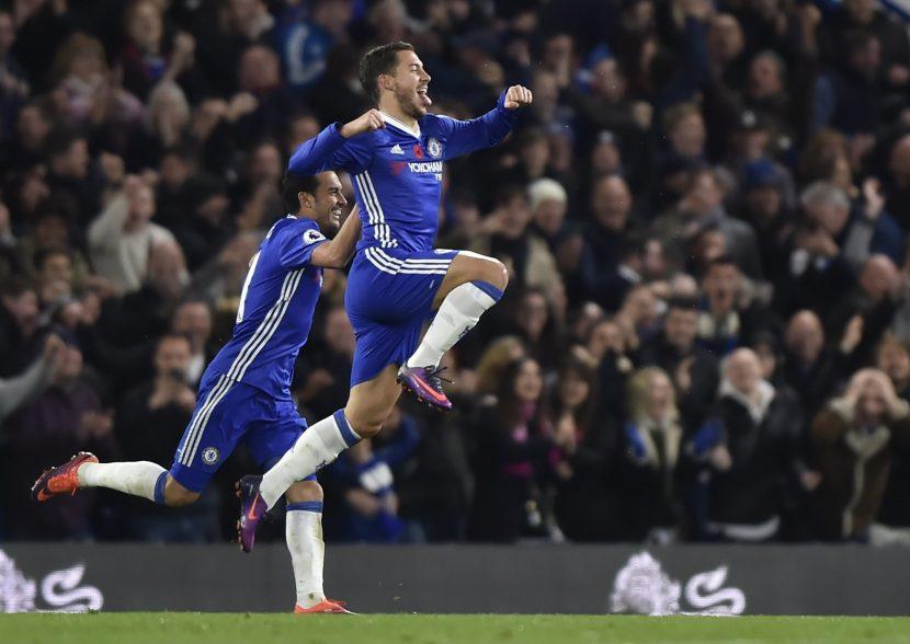 Chelsea permalukan Manchester city dengan skor 1-3
